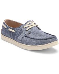 f797f5e8347 Lyst - Men s TOMS Boat and deck shoes On Sale