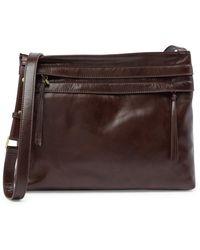Hobo - Larkin Leather Crossbody Bag - Lyst