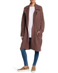 Michael Stars - Notch Collar Coat - Lyst