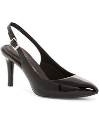 Rockport | Total Motion Pointed Toe Slingback Pump - Wide Width Available | Lyst