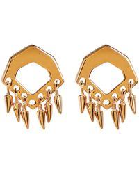 Botkier - Cutout Fringe Stud Earrings - Lyst