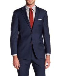 Tommy Hilfiger - Adams Modern Fit Th Flex Performance Wool Blend Sharkskin Suit Separates Jacket - Lyst