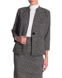 Kasper - Printed Jacquard Knit Jacket - Lyst