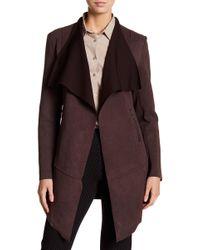 Insight | Brushed Neoprene Cardigan Jacket | Lyst
