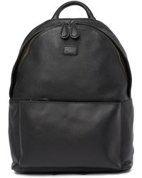 Ted Baker - Panthr Leather Backpack - Lyst