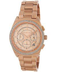 MICHAEL Michael Kors - Women's Vail Chronograph Bracelet Watch, 39mm - Lyst
