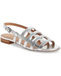 Madewell - Holly Cage Sandals - Lyst