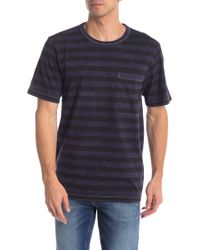 Hudson Jeans - Striped Short Sleeve T-shirt - Lyst