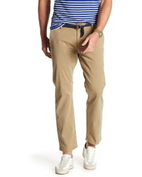 Dockers - Washed Slim Tapered Leg Trousers - Lyst