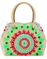 Raj - Embroidered Neoprene Tote - Lyst