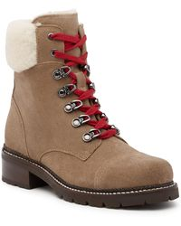 Frye | Samantha Shearling Hiking Boot | Lyst