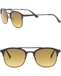 Vince Camuto - Retro Clubmaster Metal Frame Sunglasses - Lyst