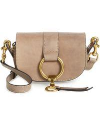 Frye - Mini Ilana Harness Leather Saddle Bag - Lyst