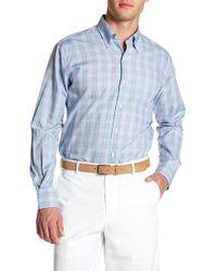 Peter Millar - Pacific Glen Plaid Print Regular Fit Shirt - Lyst