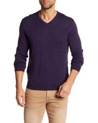 Calvin Klein | V-neck Wool Jumper | Lyst