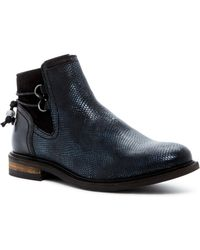 PLDM - Nobly Snake-embossed Ankle Bootie - Lyst
