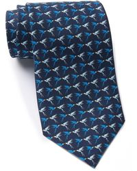 Thomas Pink - Parrot Print Silk Tie - Lyst