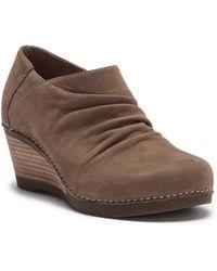 Dansko - Sheena Wedge Ankle Bootie - Lyst
