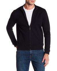Tocco Toscano - Mock Neck Long Sleeve Full Zip Jacket - Lyst
