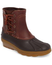 Sperry Top-Sider - Saltwater Wedge Spray Duck Boot - Lyst