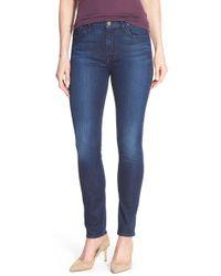 Jen7 - Stretch Skinny Jeans (imperial Blue) - Lyst