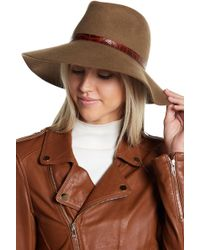 Eric Javits - Fanny Water Repellent Wool Hat - Lyst