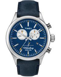Timex - Men's Waterbury Chronograph Watch, 42mm - Lyst