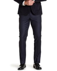 Brooks Brothers - Plaid Flat Front Wool Blend Trousers - Lyst