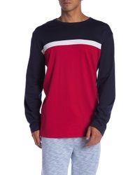 0750f61dfcc Lyst - Tommy Hilfiger Men s Chopkins Long-sleeve T-shirt in Blue for Men