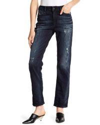 DIESEL - Reen Distressed Jeans - Lyst