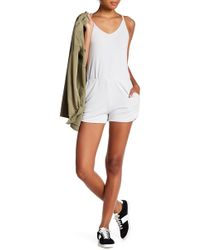 Michelle By Comune - V-neck Romper - Lyst