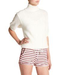 Six Crisp Days - Short Sleeve Sweater - Lyst