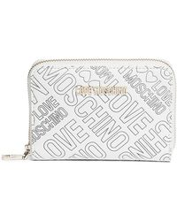Love Moschino - Embossed Logo Wallet - Lyst