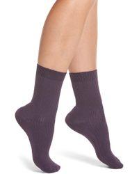 Chelsea28 - Luster Crew Socks - Lyst