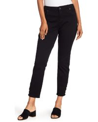 Kut From The Kloth - Connie Ankle Snap Jeans - Lyst
