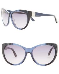 Swarovski | Women's Cat Eye Acetate Frame Sunglasses | Lyst