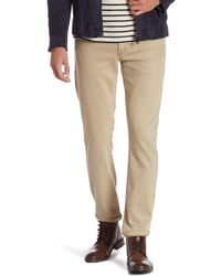 Fidelity - Torino Narrow Slim Solid Pants - Lyst