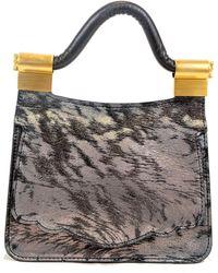 Thale Blanc - Audrey Mini Leather Bag - Lyst