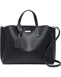 Luisa Vannini - Leather Tote Bag - Lyst