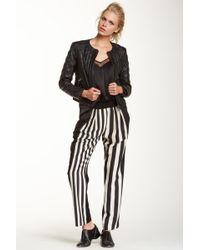ABS By Allen Schwartz - Striped Track Trouser - Lyst