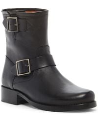 Frye - Vicky Engineer Ankle Boot - Lyst