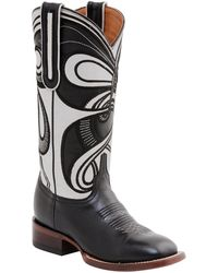 Lucchese - Hypnotic Swirl Cowboy Boot - Lyst