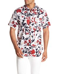 Ezekiel - Tropicool Short Sleeve Woven Regular Fit Shirt - Lyst