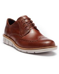 Ecco - Jeremy Magnet Leather Derby - Lyst