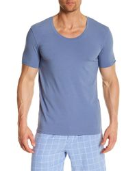 Naked - Scoop Neck Lounge Tee - Lyst