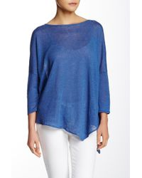 In Cashmere | 3/4 Sleeve Linen Pullover | Lyst