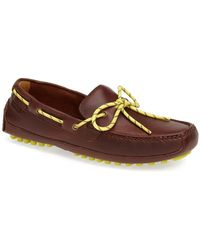 Cole Haan - 'grant Canoe Camp' Leather Driving Moccasin (men) - Lyst