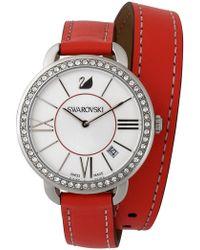 Swarovski | Women's Aila Day Double Tour Swiss Quartz Watch, 37mm | Lyst