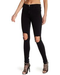 Black Orchid - Gisele High Rise Super Skinny Jeans - Lyst