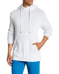Velvet By Graham & Spencer - Beach Stripe Hoodie - Lyst